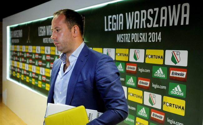Prezes Legii Bogusław Leśnodorski /PAP/Bartłomiej Zborowski /PAP