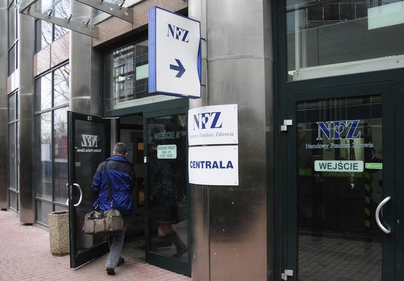 Prezes NFZ ma zastrzeżenia do kary, jaką bydgoski oddział funduszu nałożył na szpital we Włocławku. /Włodzimierz Wasyluk /Reporter