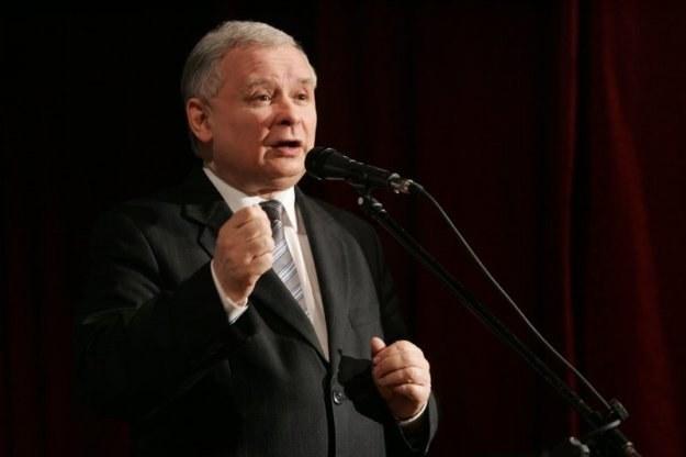 Prezes PiS Jarosław Kaczyński, fot. Artur Orzechowski /Agencja SE/East News