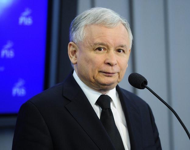 Prezes PiS Jarosław Kaczyński / fot. P. Bławicki /East News
