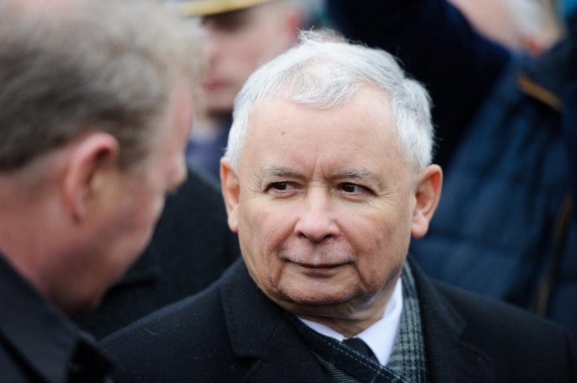 Prezes PiS Jarosław Kaczyński w Wierzchosławicach. /Paweł Topolski (PAP) /PAP