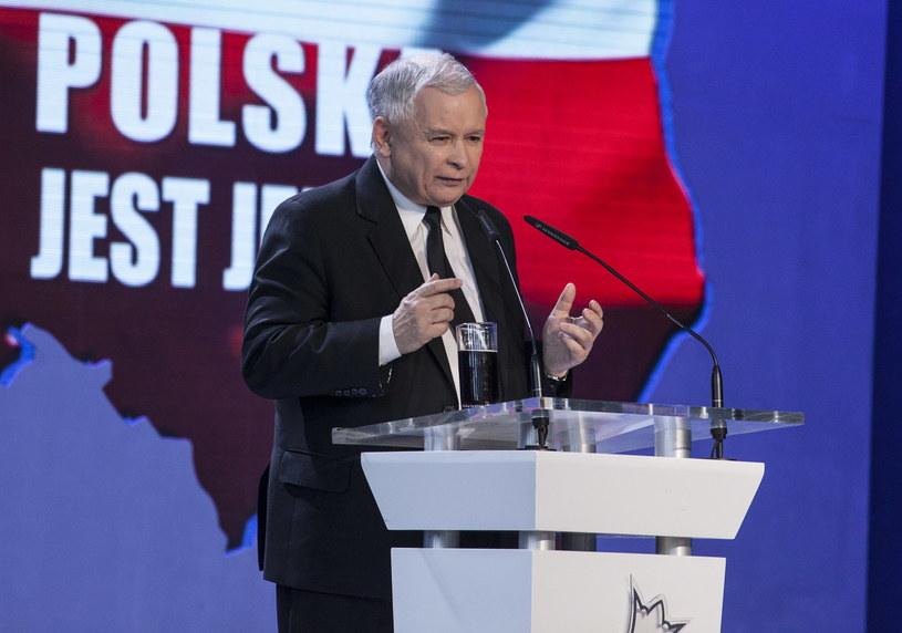 Prezes PiS Jarosław Kaczyński /Michał Walczak /PAP