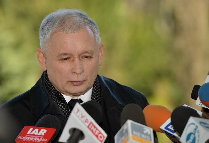 Prezes PiS Jarosław Kaczyński. /Radek Pietruszka /PAP