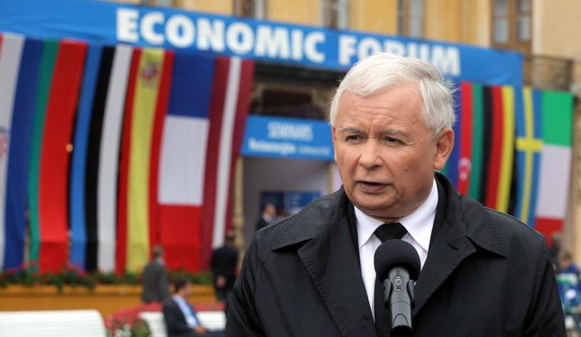 Prezes PiS Jarosław Kaczyński. /Grzegorz Momot /PAP