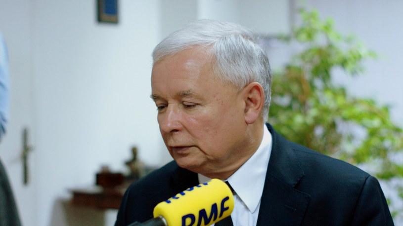 Prezes PiS Jarosław Kaczyński /Michał Dukaczewski /RMF FM