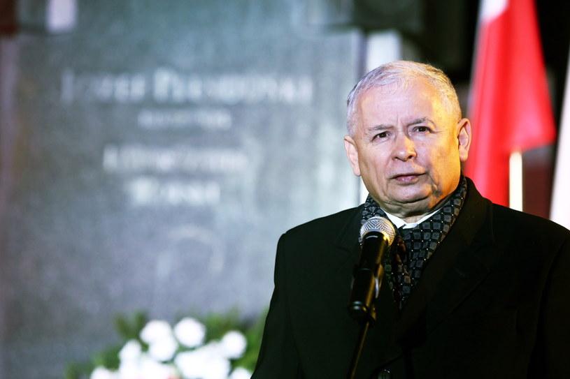Prezes PiS Jarosław Kaczyński /Tomasz Gzell /PAP