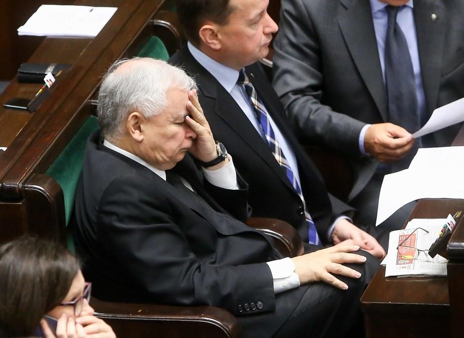 Prezes PiS Jarosław Kaczyński /Paweł Supernak /PAP/EPA