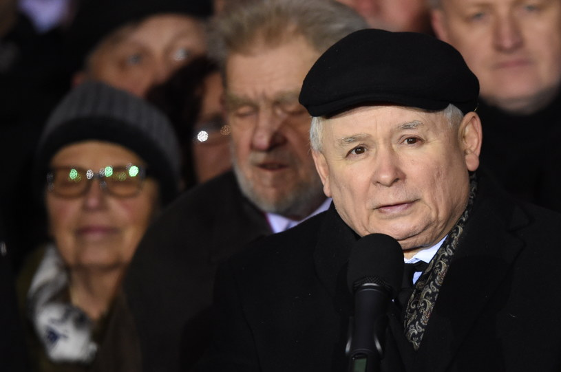 Prezes PiS Jarosław Kaczyński /Radek Pietruszka /PAP
