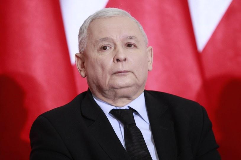 Prezes PiS Jarosław Kaczyński /Stefan Maszewski /Reporter
