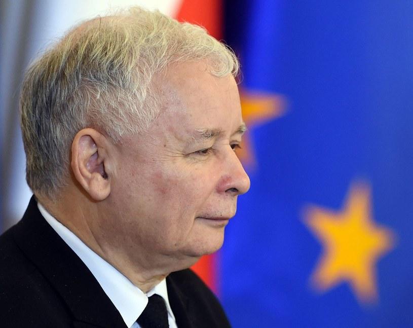 Prezes Prawa i Sprawiedliwości Jarosław Kaczyński /AFP