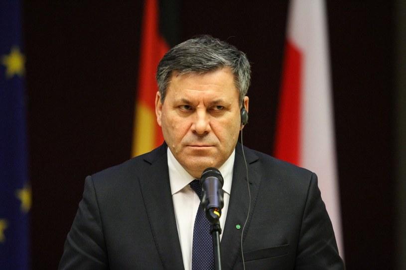 Prezes PSL Janusz Piechociński. /Jan Graczyński /East News