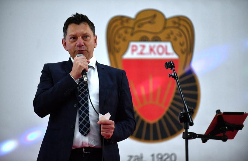 Prezes PZKol Dariusz Banaszek /Fot. Bartłomiej Zborowski /PAP