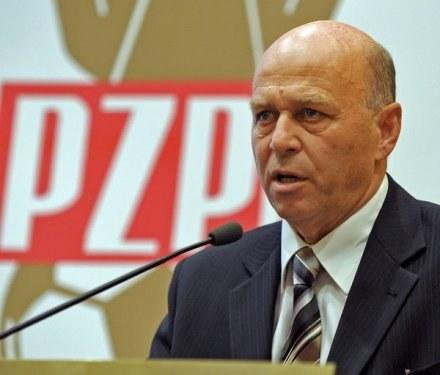 Prezes PZPN - Grzegorz Lato /AFP