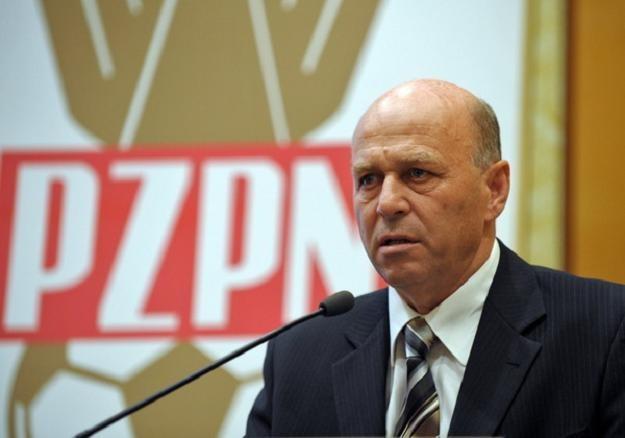 Prezes PZPN Grzegorz Lato /AFP