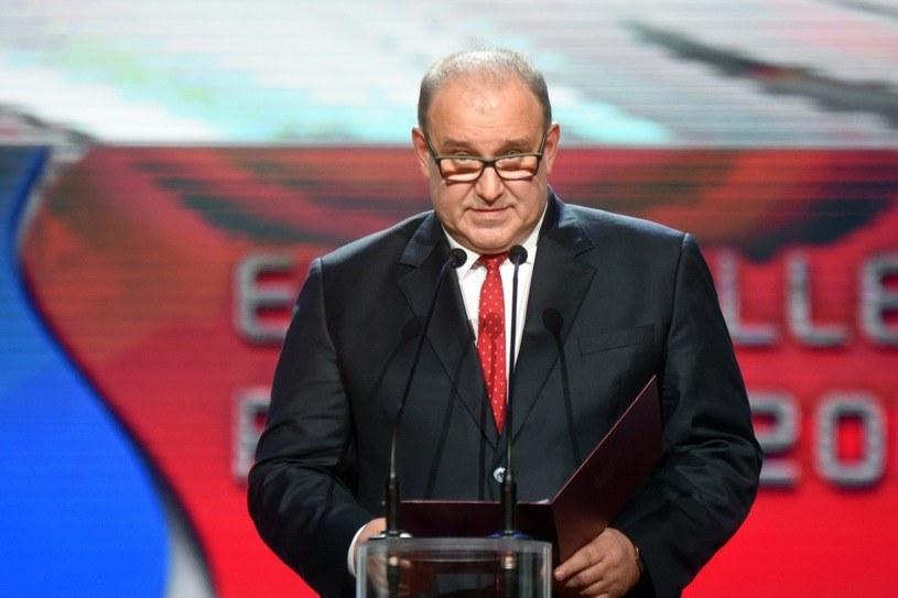 Prezes PZPS Jacek Kasprzyk /Michał Lasyk /Reporter