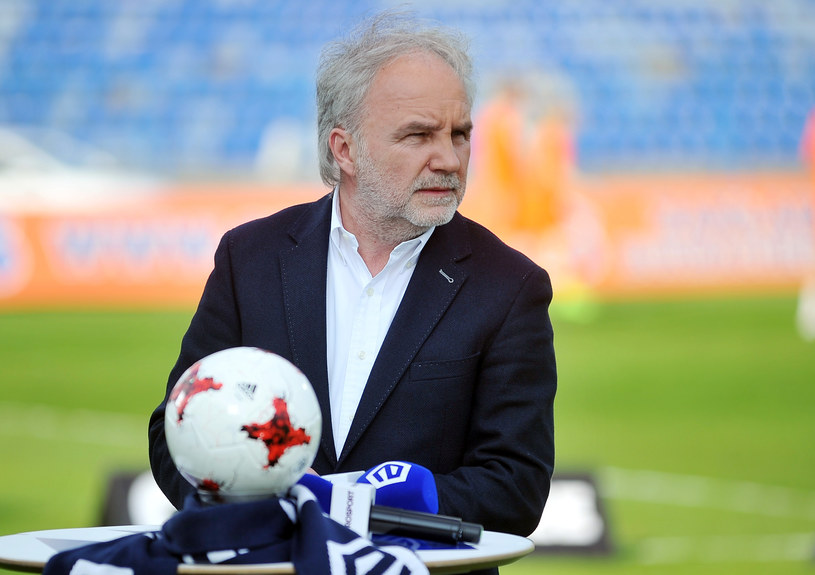 Prezes Ruchu Chorzów Janusz Paterman /Norbert Barczyk /Newspix