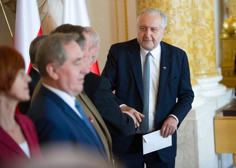 Prezes TK Andrzej Rzepliński /fot. Bartosz Krupa /East News