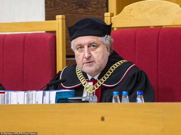 Prezes TK, Andrzej Rzepliński /Bartosz Krupa /East News
