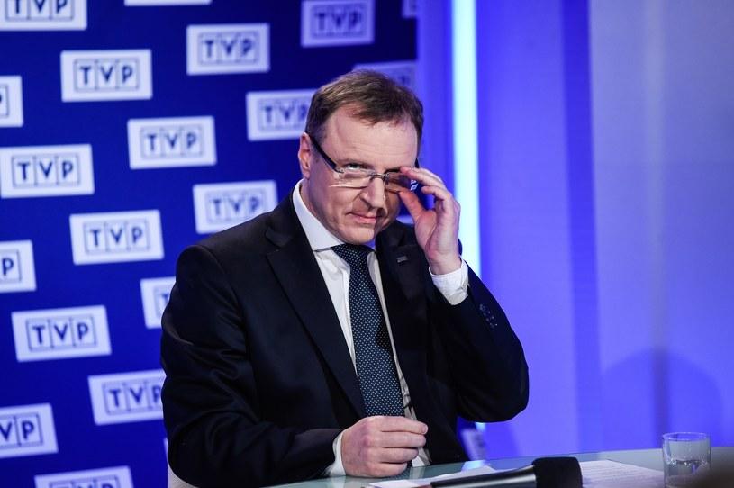 Prezes TVP Jacek Kurski /Agnieszka Sniezko /East News