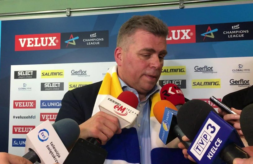 Prezes Vive Kielce Bertus Servaas /INTERIA.PL
