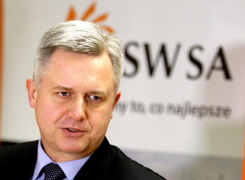Prezes Zarządu Jastrzębskiej Spółki Węglowej S.A. Jarosław Zagórowski /Andrzej Grygiel /PAP