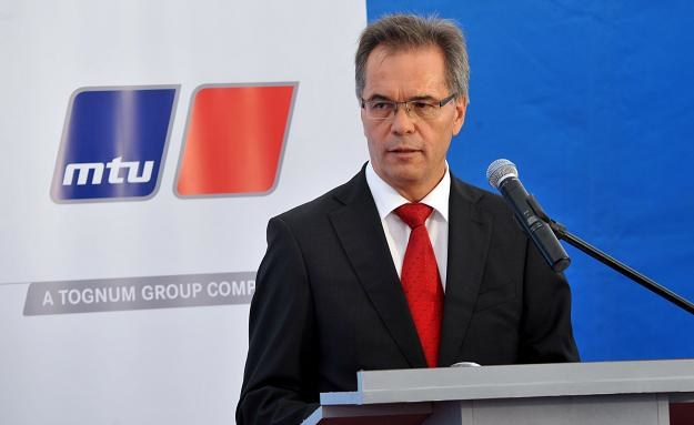 Prezes zarządu MTU Polska Karl Kollmuss /PAP