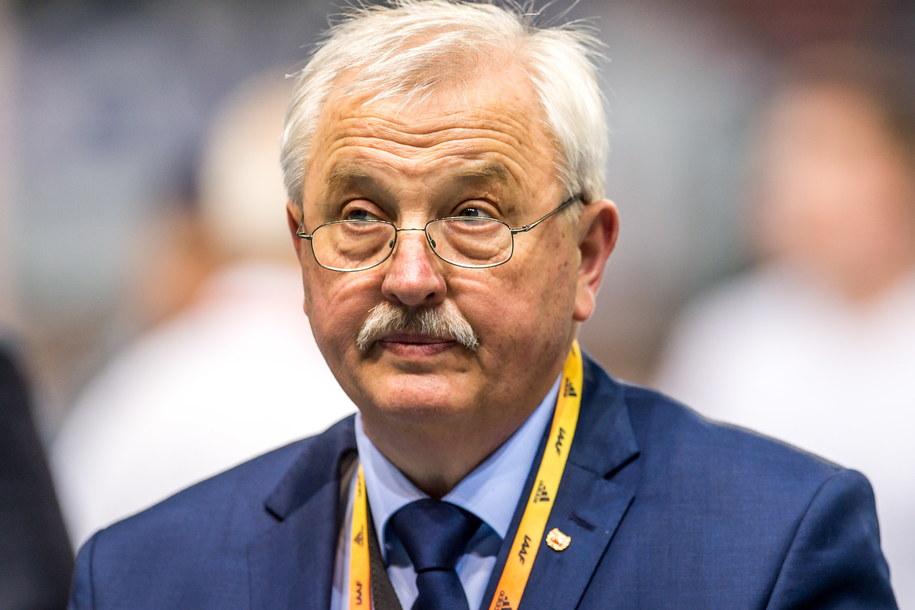 Prezes Zarządu Polskiego Związku Lekkiej Atletyki Henryk Olszewski. /PAP