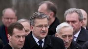 Prezydenci Polski i Rosji w Katyniu