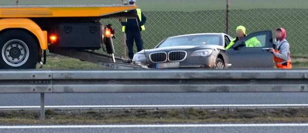 Prezydencka limuzyna to pancerne BMW 7. Zostanie zbadana w policyjnym laboratorium