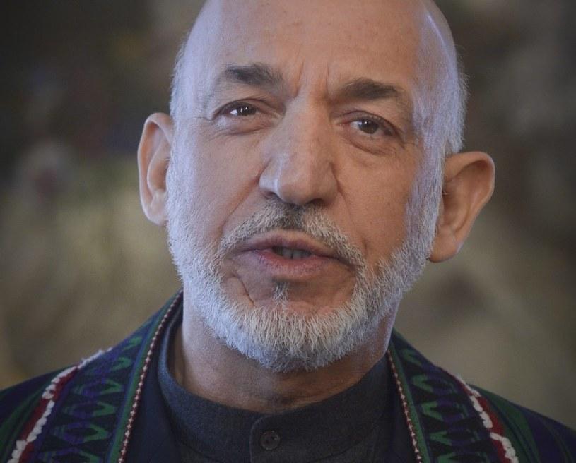 Prezydent Afganistanu Hamid Karzaj /PAP/EPA