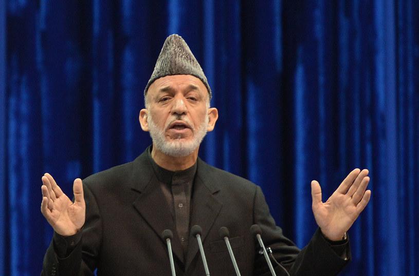 Prezydent Afganistanu Hamid Karzaj /AFP