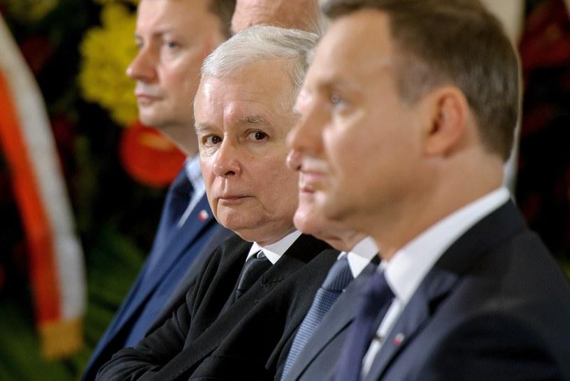 Prezydent Andrzej Duda i prezes PiS Jarosław Kaczyński /Rafał Oleksiewicz/Reporter /East News