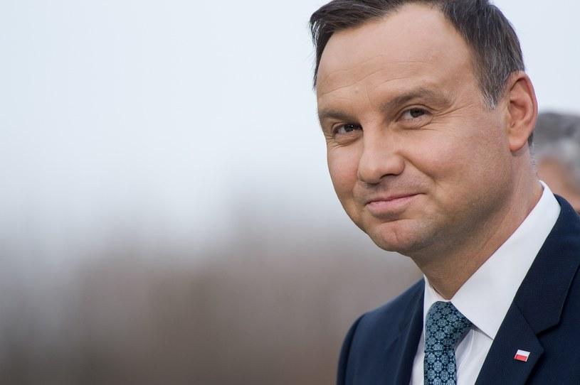 Prezydent Andrzej Duda rozmawiał z posłami PiS o obecnych reformach w wymiarze sprawiedliwości /Rafal Oleksiewicz /Reporter