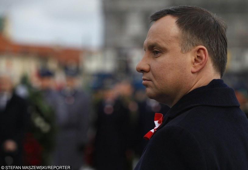 Prezydent Andrzej Duda /Stefan Maszewski /Reporter