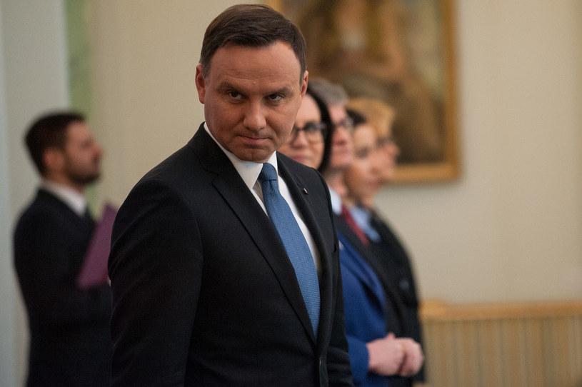 Prezydent Andrzej Duda /Filip Blazejowski /Agencja FORUM