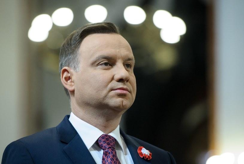 Prezydent Andrzej Duda /Rafal Oleksiewicz /Reporter