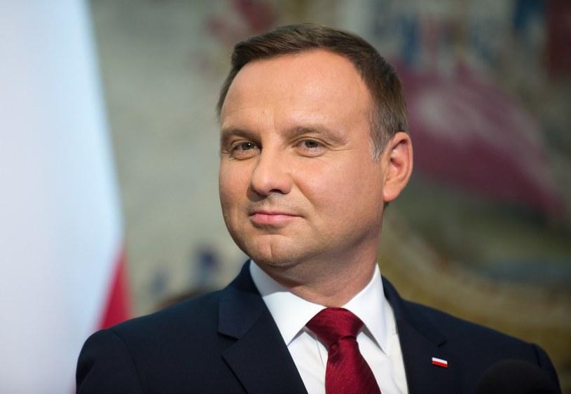 Prezydent Andrzej Duda /Bartosz Krupa /East News
