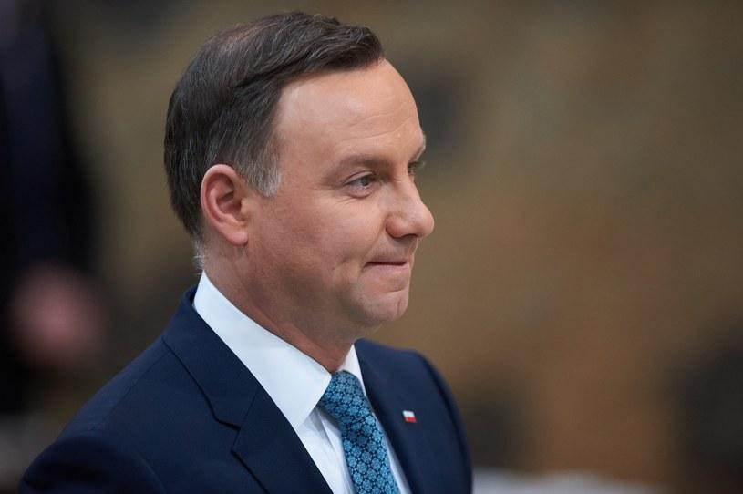 Prezydent Andrzej Duda /LUKASZ SZELAG/REPORTER /Reporter
