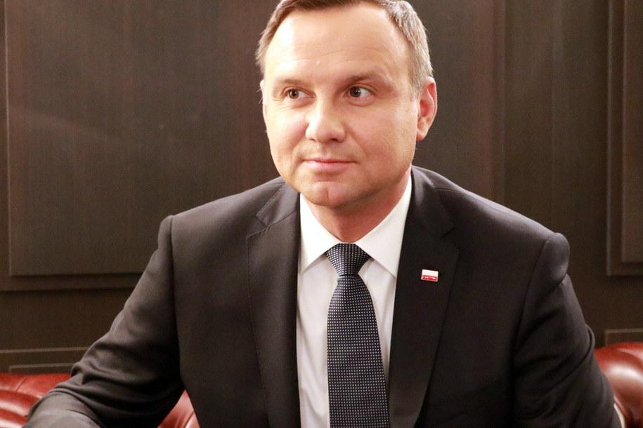 Prezydent Andrzej Duda /Michał Dukaczewski /RMF FM