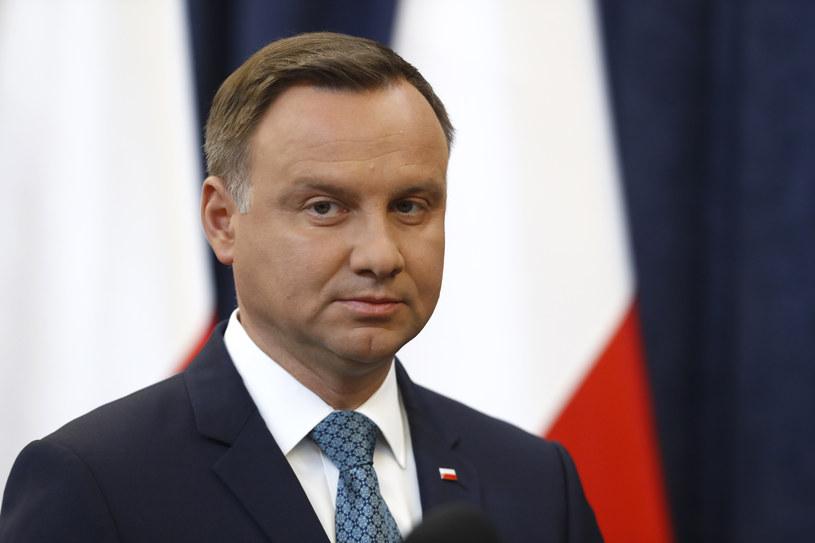 Prezydent Andrzej Duda /REUTERS/Kacper Pempel /FORUM