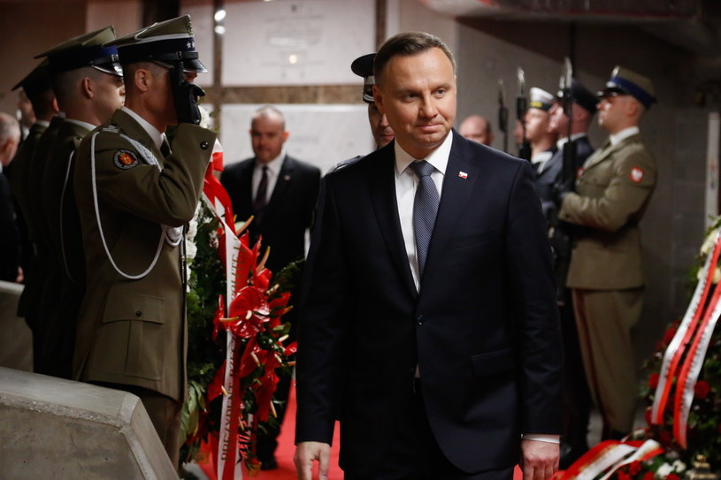 Prezydent Andrzej Duda /Adam Guz /PAP
