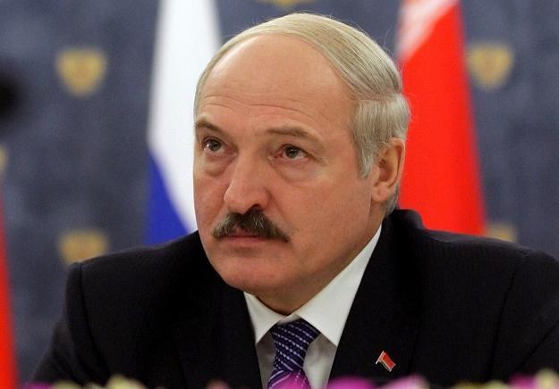 Prezydent Białorusi - Alaksandr Łukaszenka. /AFP