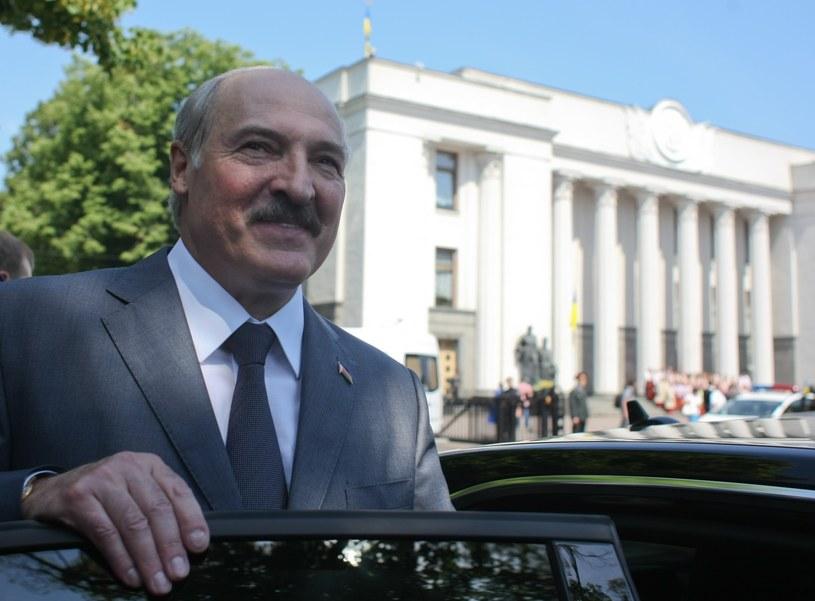 Prezydent Bialorusi Aleksandr Łukaszenka /Michal Dyjuk /East News