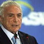 Prezydent Brazylii i jego dwaj współpracownicy podejrzani o korupcję