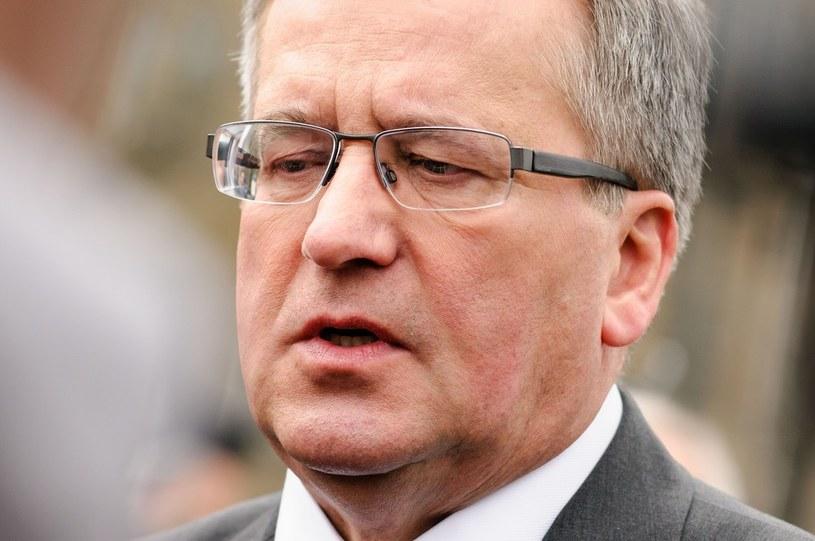 Prezydent Bronisław Komorowski /Tomasz Urbanek /East News