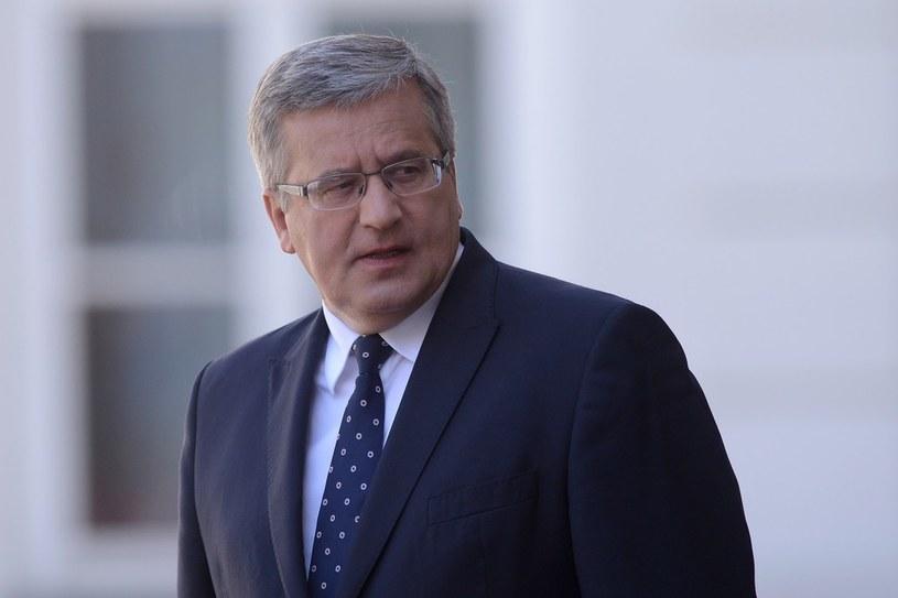 Prezydent Bronisław Komorowski /Mateusz Jagielski /East News
