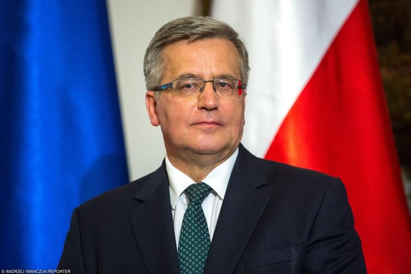 Prezydent Bronisław Komorowski /Andrzej Iwańczuk/Reporter /East News