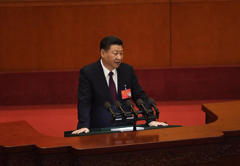 Prezydent Chin Xi Jinping /WANG ZHAO  /AFP