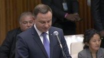 Prezydent Duda o uchodźstwie i kryzysie imigracyjnym na szczycie ONZ