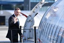Prezydent Duda rozpoczął wizytę w Gruzji
